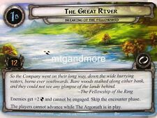 Lord of the Rings LCG  - 1x The Great River  #061 - The Road Darkens