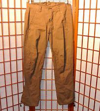 DSQUARED2 KENNY LEATHER TIE MILITARY ARMY CARGO  CASUAL PANTS JEANS 30 32 46