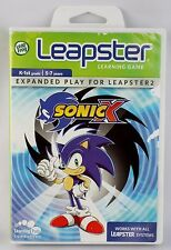 Leapster 2 Sonic X K-1st 5-7 Years Leap Frog Learning Games