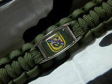 US ARMY 39th Special Forces DET 1st SF RGT AIRBORNE Paracord Key Fob SOCKOR