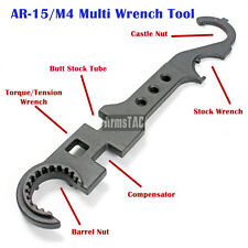 AR Wrench Tool Armorer's Steel Tool Gunsmith 15 Rifle Barrel Removal Tactical