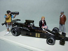 3  FIGURINES  1/43  SET 81  RONNIE  PETERSON   FORMULE 1    VROOM  A  PEINDRE