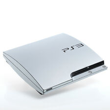 In alluminio spazzolato PS3 SLIM CON TEXTURE pelle-Full Body Wrap-Decalcomania Adesivo Cover