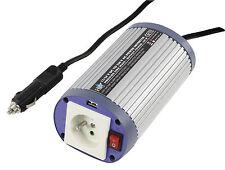 CONVERTISSEUR TRANSFORMATEUR DE TENSION VOITURE BATEAU 150W 12V EN 220V  +  USB