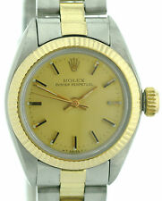Rolex Oyster Perpetual Stahl/ 18K Gold  Damenuhr Lady Watch Ref. 6917