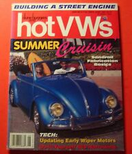DUNE BUGGIES AND HOT VWs MAGAZINE JUNE/1994...BUILDING A STREET ENGINE