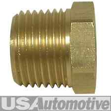 "PIPE FITTING BRASS BUSHING 1/8"" FEMALE NPT X 1/2"" MALE NPT"
