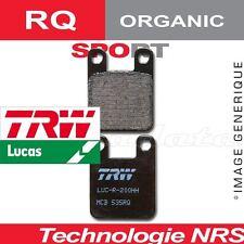 Plaquettes de frein Arrière TRW Lucas MCB700RQ Benelli TNT 899 Cafe Racer 10-12