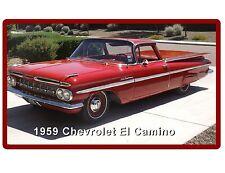 1959 Chevrolet El Camino  Refrigerator / Tool Box Magnet Man Cave