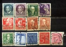 Sverige Sweden Small Used Stamps Lot  5