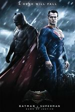 Batman v Superman: Dawn of Justice 24x36 poster DC COMIC SUPERHERO LEX KRIPTON!!