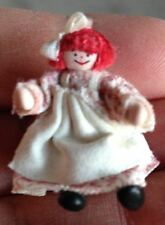 Teeny Tiny Dollhouse Miniature Posable Artist Raggedy Anne Doll-Precious-BUY NW