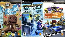 Sony Playstation PSP GAMES LOT - 3 GAME BUNDLE! (Retail Value: $89.95) NEW DEAL