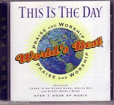 Worlds Best Praise Worship THIS IS THE DAY Long Play CD Classic Great Christian