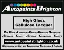 Cellulose Clear Lacquer High Gloss 4.5Litre