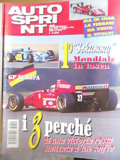 Autosprint 40 1995 Superturismo ALFA 155 vs BMW