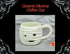 NEW HALLOWEEN MUMMY CERAMIC MUG COFFEE CUP ADORABLE