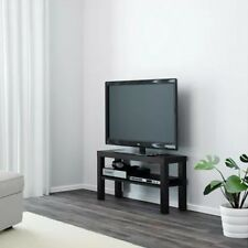 Noir moderne stand table coffe tv set banc hold dvd home cinema petit vendeur britannique