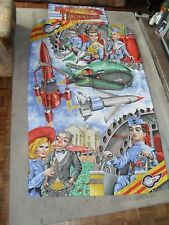 Vintage Gerry Anderson thunderbirds duvet cover & Pillowcase 1992