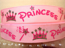 1 METRE PINK PRINCESS RIBBON SIZE 7/8 HEADBANDS BOWS BIRTHDAY CAKE CARD MAKING