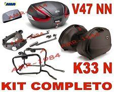 YAMAHA XJ6 600 R 13  KIT 3 VALIGIE K33N + V47NN + TELAIO PLXR2110 + 364FZ + E134