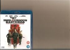 INGLORIOUS BASTERDS BLURAY / BLURAY RATED 18 TARANTINO BRAD PITT