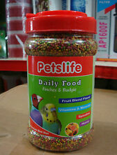 Daily Food - Finches & Love Birds - Petlife 360gm - Vitamins Fruit Health Care