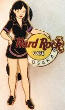 Hard Rock Cafe OSAKA 2004 GIRL of ROCK Series PIN GOR #2 Black Uniform #21176