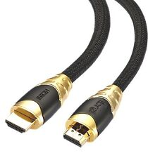 IBRA® 8M HDMI 2.0/v1.4A PREMIUM GOLD Cable HDTV 3D 2160P Full HD Lead 8 Metre