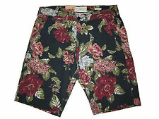 Ralph Lauren Denim and Supply Blue Red Floral Vintage Polo Beach Shorts 31