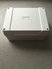 PLASTIC ADAPTABLE WEATHERPROOF JUNCTION BOX ENCLOSURE 200x160x100mm IP65 Hobby