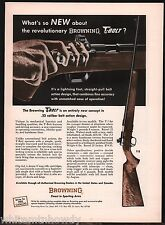 1966 BROWNING T-2 T-Bolt RIFLE Vintage Print AD