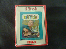 THE BEST OF CHET ATKINS  ULTRA RARE NEW SEALED 8 TRACK CASSETTE TAPE!