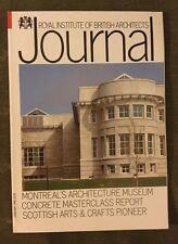 RIBA Journal Feb 90 Montreal Architecture Museum, Concrete, Scottish Arts