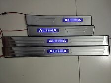 Stainless Steel LED High Quality Door Sill Scuff Plate For Nissan Altima 2008-12