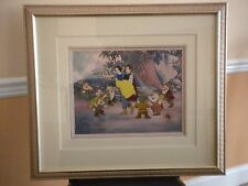 Disney Snow White and the Seven Dwarfs 50th Anniversary Hand Painted Cel 404/500