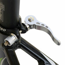 Road Bike Bicycle Cycle Quick Release Seat Saddle Post Clamp Mount Adapter FE