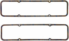 "FEL-PRO VALVE COVER GASKETS P/N#1604 5/16"" CORK-LAM-STEEL CORE CHEVY SBC ENGINE"