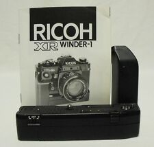 Vintage OEM RICOH XR Winder-1 Motor Drive XR-1S XR-2S Tested Working w/Manual