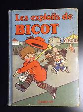 Les exploits de Bicot Hachette 1931 Branner