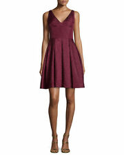 NEW $325  Erin Fetherston 'Coco' Jacquard Fit & Flare Dress.SZ:0