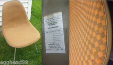 EAMES ALEXANDER GIRARD CHECKERBOARD Vintage Side Shell Herman Miller Chair RARE!