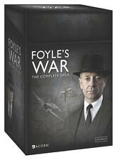 Foyle's War The Complete Saga 1-8 (DVD, 2015) Season 1 2 3 4 5 6 7 8 Foyles