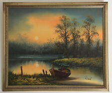 """Oil Painting on Masonite Board by the artist """"Liesl"""""""