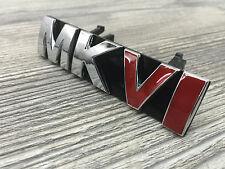 Golf 6 vi MkVI emblema calandra letras cheers logotipo caracteres