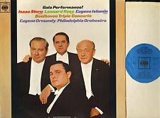 SBRG 72346 STERN/ROSE/ISTOMIN/ORMANDY beethoven triple concerto cbs LP PS EX/EX