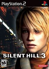 "Playstation 2  PS2 SILENT HILL 3  Box Cover Photo Poster Decor ""NO GAME"""