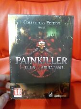 Painkiller HELL & And Damnation UNCUT COLLECTOR / PC / DVD / Brand New / SEALED