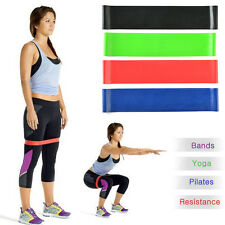 4pcs Exercise Resistance Loop Bands for Fitness Stretch Therapy Strength Run