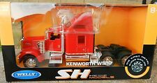 WELLY *1:32* Red KENWORTH W900 Semi Truck *DIECAST TOY* NEW IN BOX!